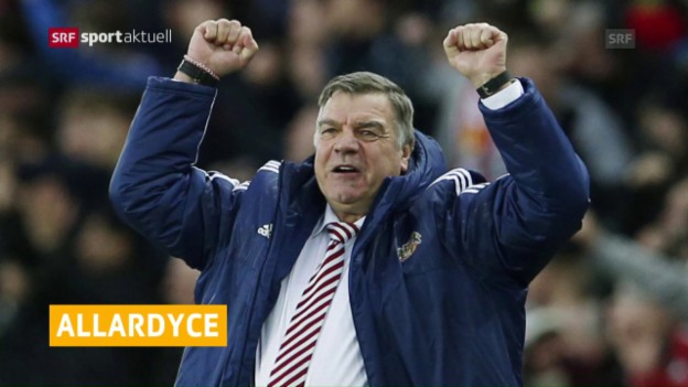 Video «Allardyce neuer England-Coach» abspielen