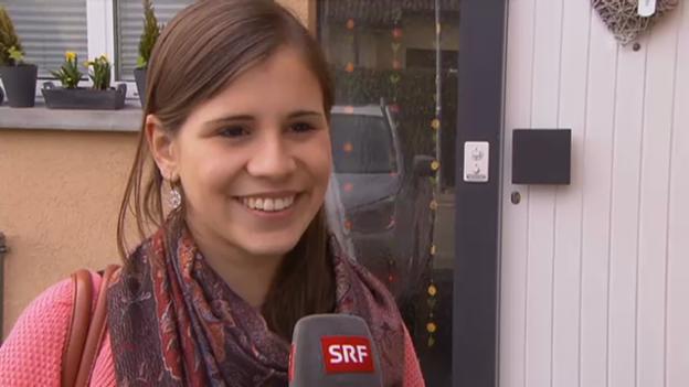 Video «Eliane Müller über ihren Umzug und ihren Freund» abspielen