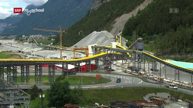 Video «Bauen im Berg: Fels, Kies und Beton (4/6)» abspielen