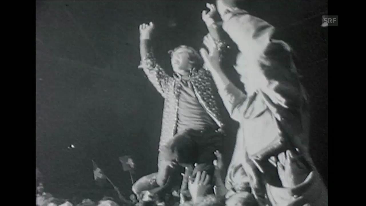 60er: Jimi Hendrix im Hallenstadion
