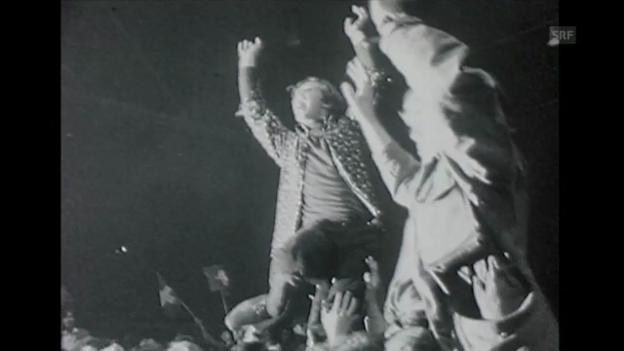 Video «60er: Jimi Hendrix im Hallenstadion» abspielen