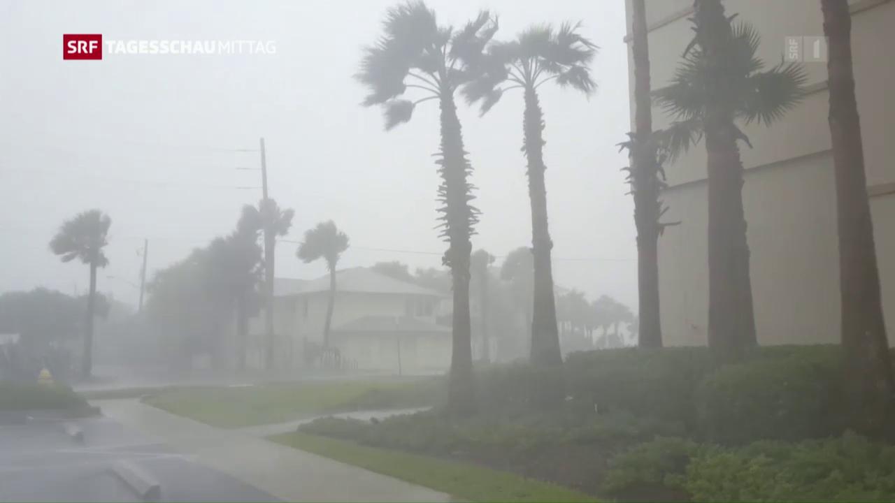 Auch in Florida war «Matthew» mitnichten harmlos