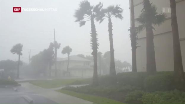 Video «Auch in Florida war «Matthew» mitnichten harmlos» abspielen