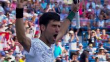 Link öffnet eine Lightbox. Video Die Live-Highlights bei Federer - Djokovic abspielen