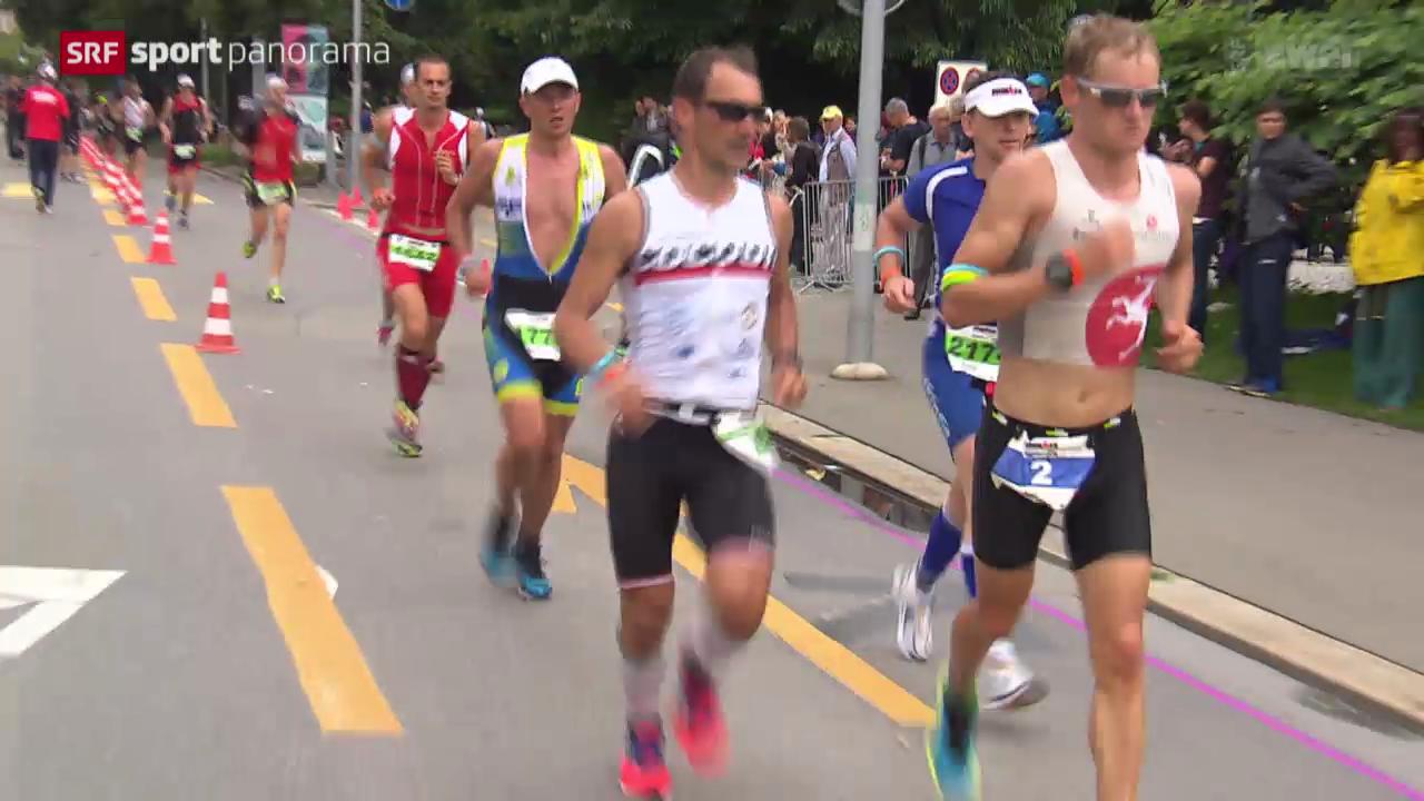 Triathlon: Ironman Switzerland in Zürich, Männer