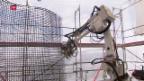 Video «Bauroboter statt Bauarbeiter» abspielen