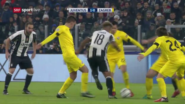 Video «Zagreb bleibt auch in Turin tor- und punktelos» abspielen