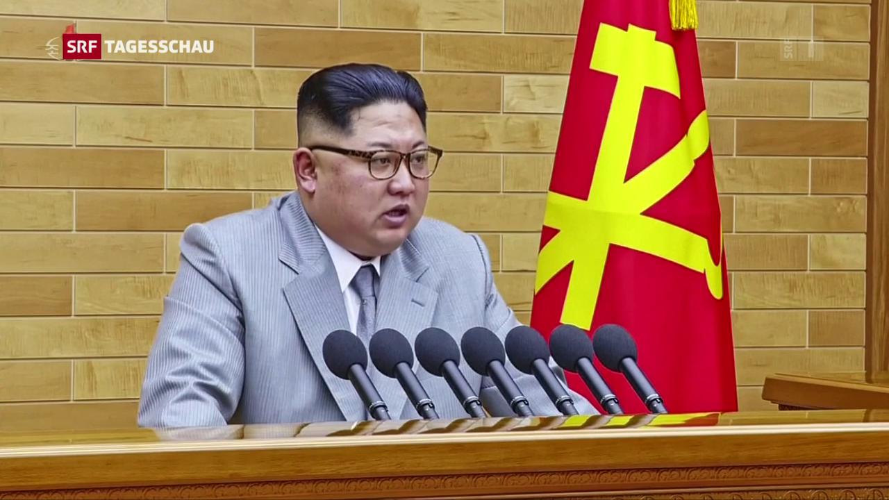 Nordkoreas Machthaber droht den USA