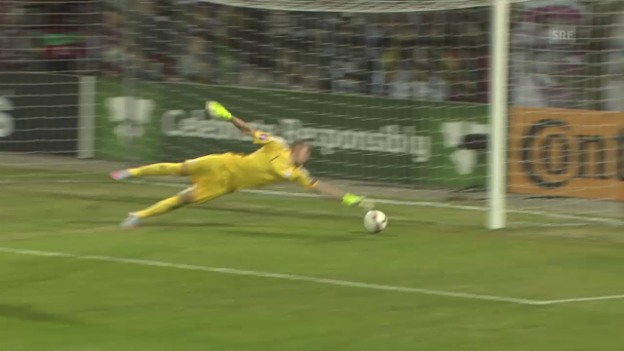 Video «Fussball: EM-Qualifikation, Lettland-Niederlande» abspielen