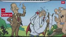 Link öffnet eine Lightbox. Video Der Schöpfer von Asterix und Obelix wird 90 abspielen