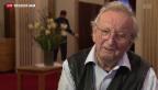 Video «Peter Bichsel feiert 80. Geburtstag» abspielen