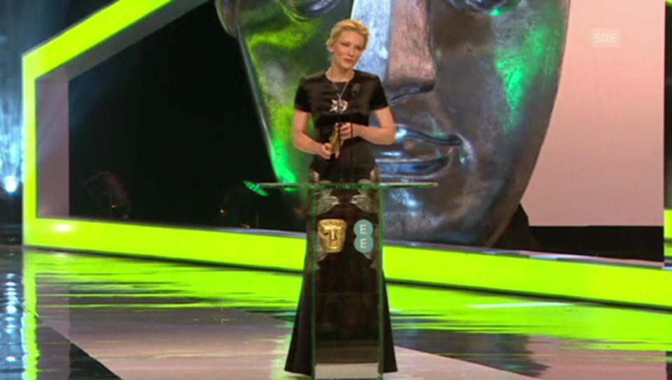 Cate Blanchett widmet ihren BAFTA Philip Seymour Hoffman