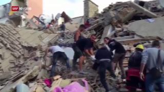 Video «Erdbeben erschüttert Italien» abspielen