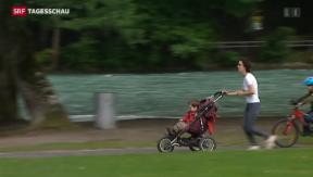 Video «Immer mehr übergewichtige Personen in der Schweiz» abspielen