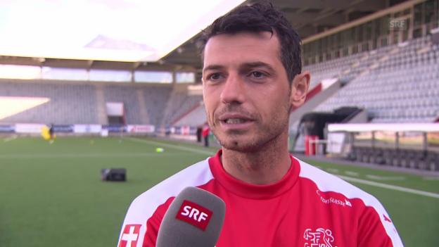 Video «Blerim Dzemaili über seinen Einstand in der Major League Soccer» abspielen