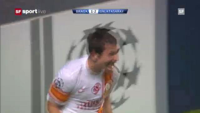 CL: Braga - Galatasaray Istanbul