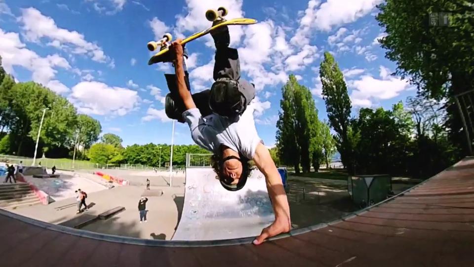 «10 vor 10»-Serie Olympia: Teil 1 –  Skateboarding