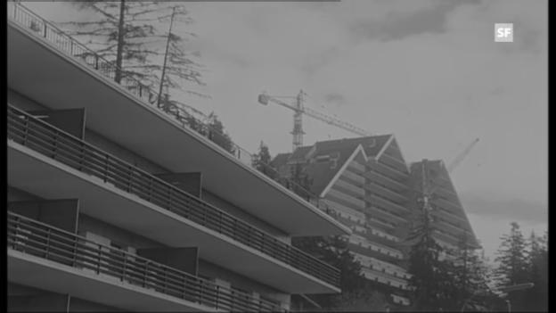 Video «Raumplanung? Fehlanzeige! Bericht in «Antenne» vom 12.4.1972.» abspielen