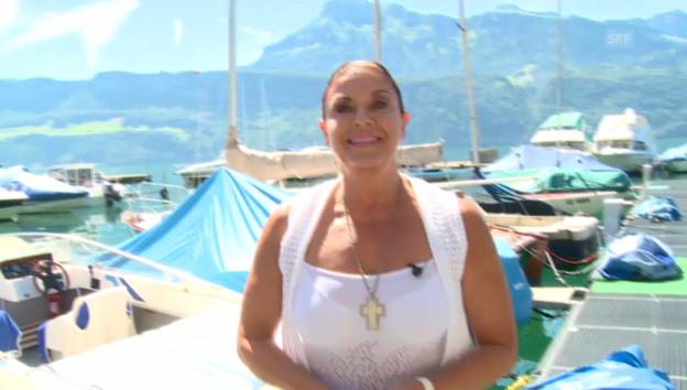 Video ««glüted & gfröged» – Folge 3: Monika Kaelin» abspielen