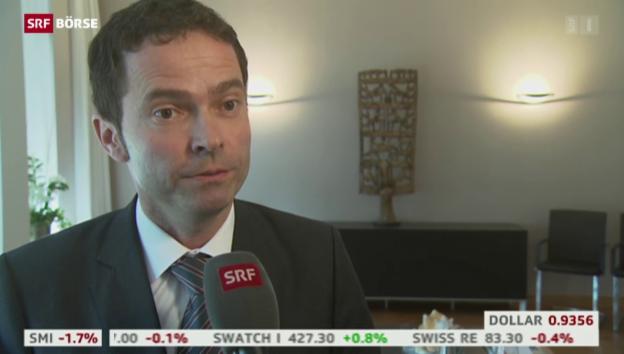 Video «SRF Börse vom 29.04.2015» abspielen