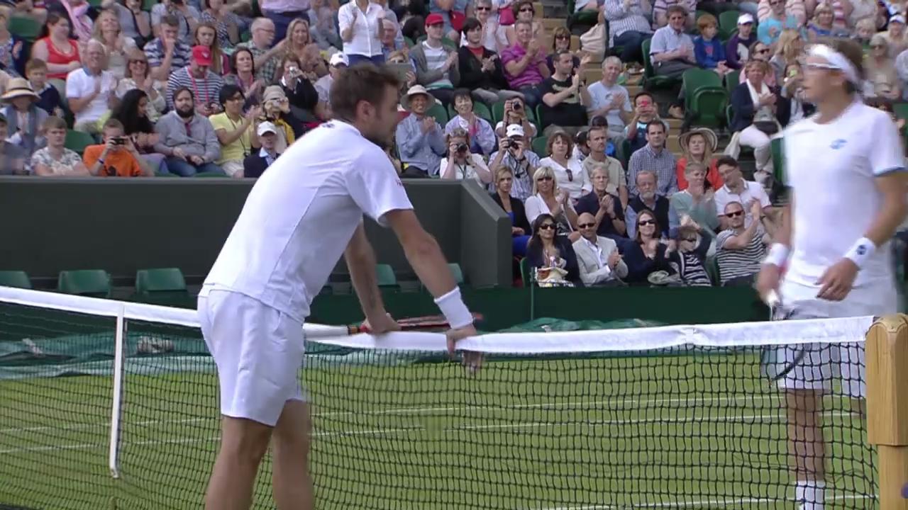 Tennis: Wimbledon, Zusammenfassung Wawrinka - Istomin