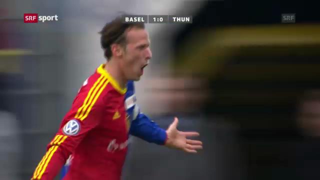 Highlights Basel - Thun («sportpanorama»)