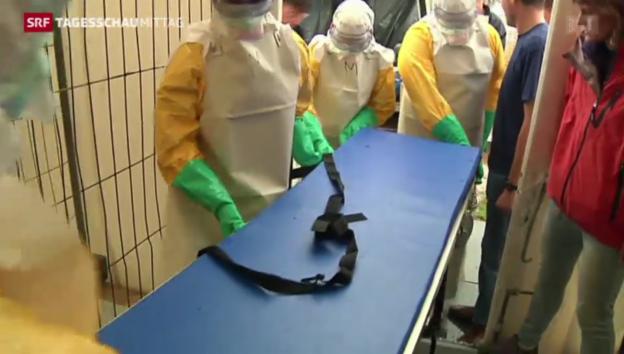 Video «Ebola-Epidemie weiter auf Vormarsch» abspielen