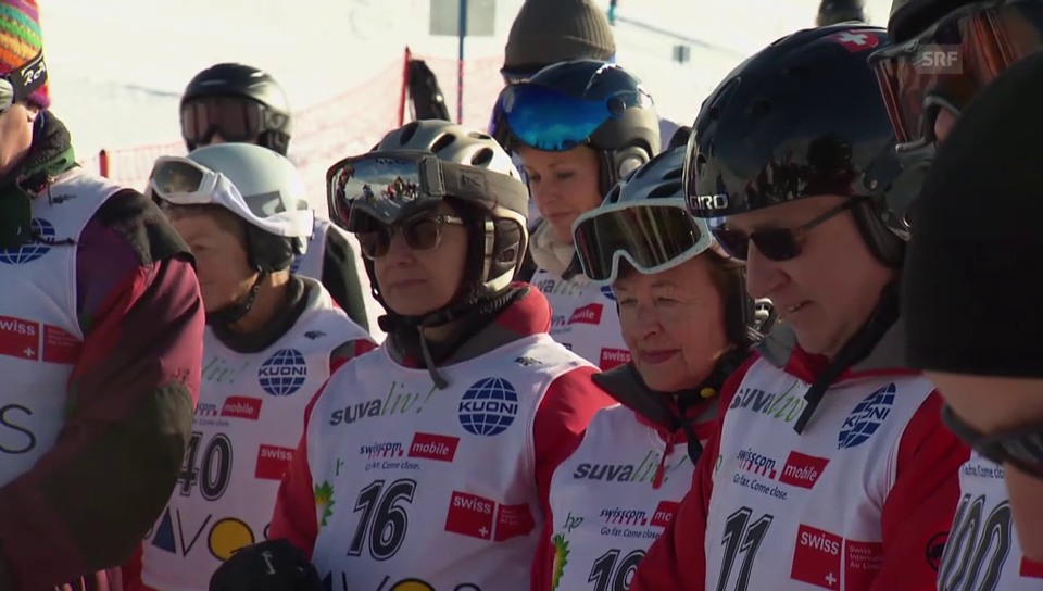 In memoriam This Jenny: Politiker auf Ski