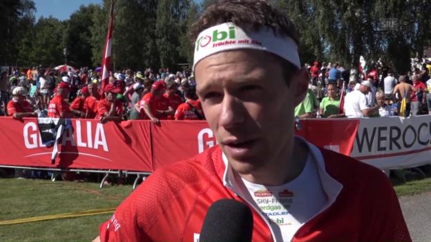 Video «Hubmann: «Bin froh, bleibt der Titel in Schweizer Hand»» abspielen