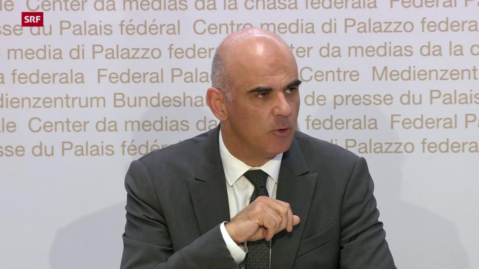 Archiv: Alain Berset zum Entscheid des Bundesrats