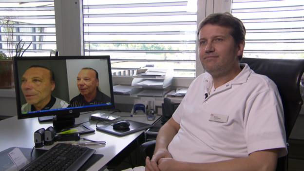 Video «Interview mit Sascha Dunst, Plastischer Chirurg von Kurt Oberländer, über dessen Facelifting» abspielen