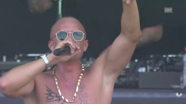 Video «Olexesh - «Purple Haze» Openair Frauenfeld» abspielen