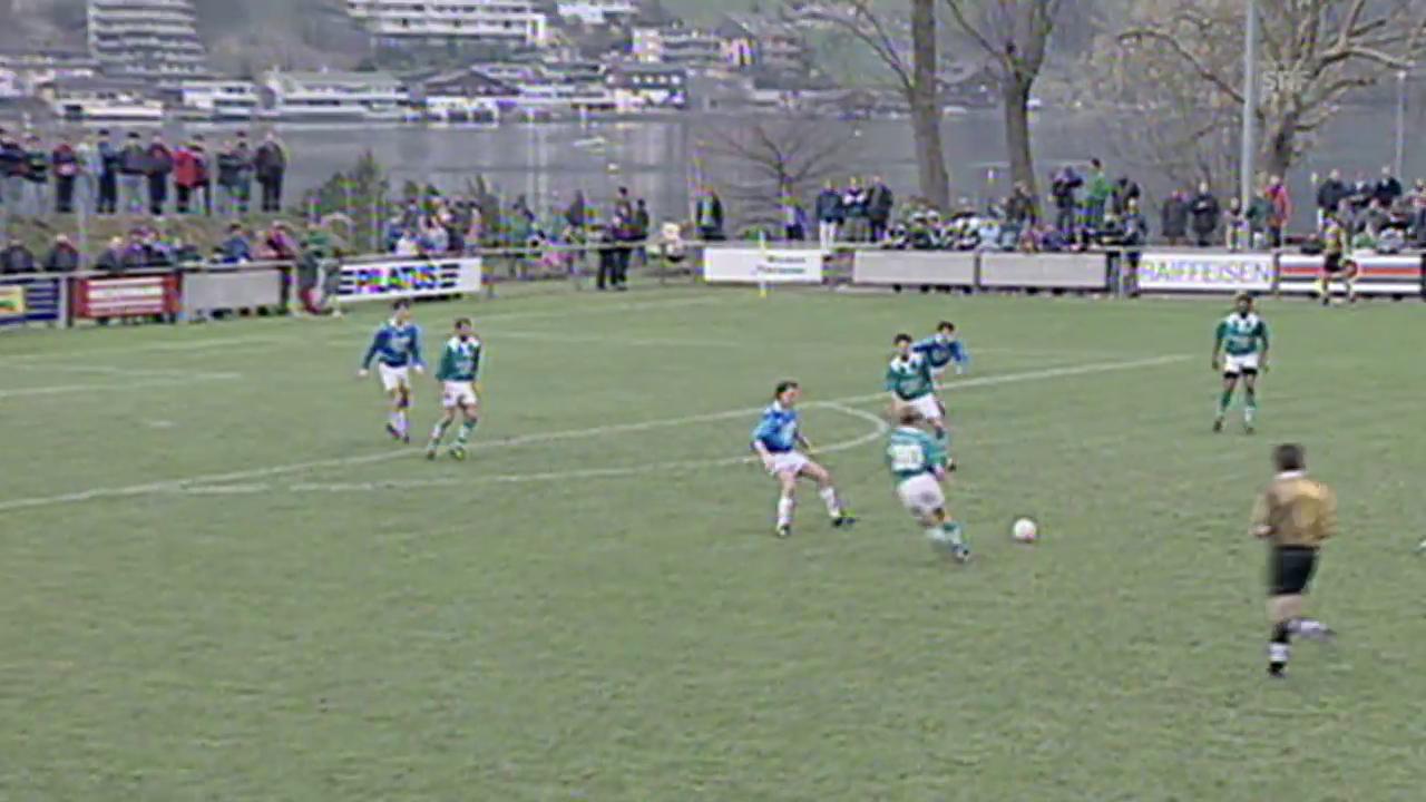 1997: Buochs verliert gegen St. Gallen