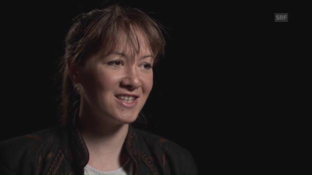 Video ««Die Texte fliessen. Jedes Wort löst das nächste aus»» abspielen