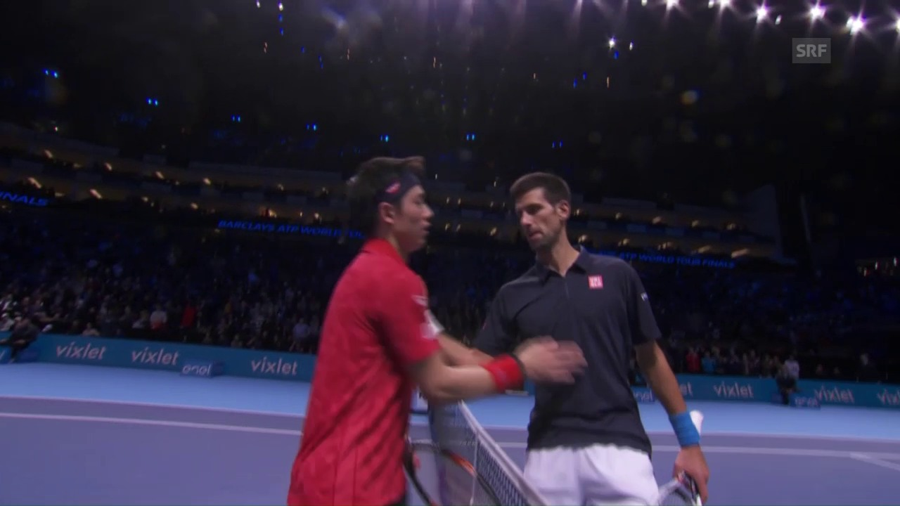 Live-Highlights Djokovic - Nishikori
