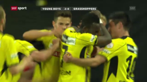 Video «SL: Young Boys - Grasshoppers» abspielen