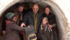 Video «Bundesrat trifft Schellenursli: Alain Berset auf dem Filmset» abspielen