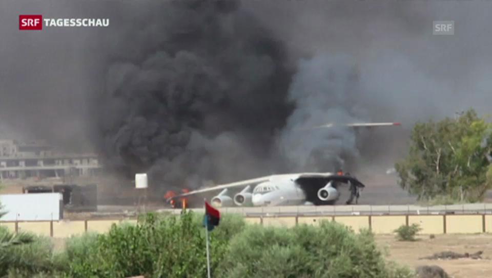 Länder warnen vor Reisen nach Libyen (Tagesschau, 27.07.2014)