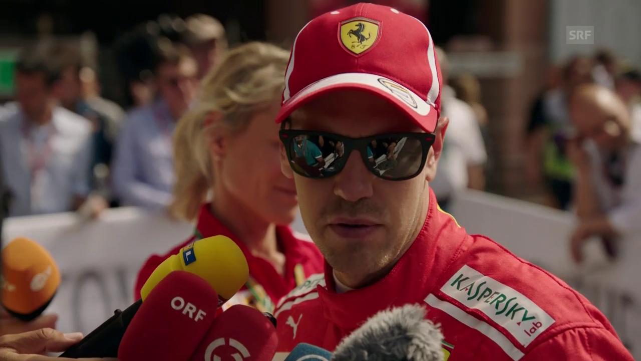 Vettel: «War für uns ein bisschen rutschig»