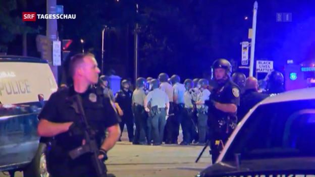 Video «Polizeigewalt und Krawalle» abspielen