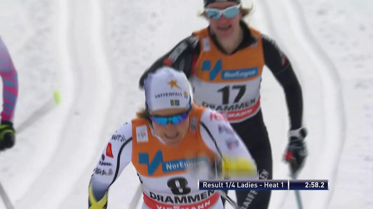 Viertelfinal mit Nadine Fähndrich