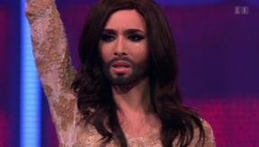 Video «Conchita Wurst zu Besuch beim »Zurich Pride Festival»» abspielen