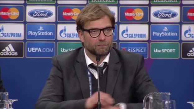 Video «Ausschnitte aus der Medienkonferenz mit Jürgen Klopp» abspielen