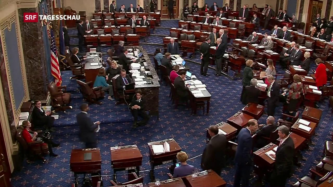 Senat verabschiedet Trumps Steuerreform