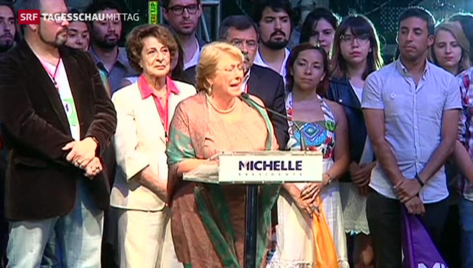 Neue Präsidentin für Chile