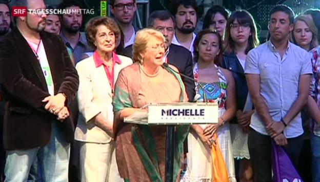 Video «Neue Präsidentin für Chile» abspielen