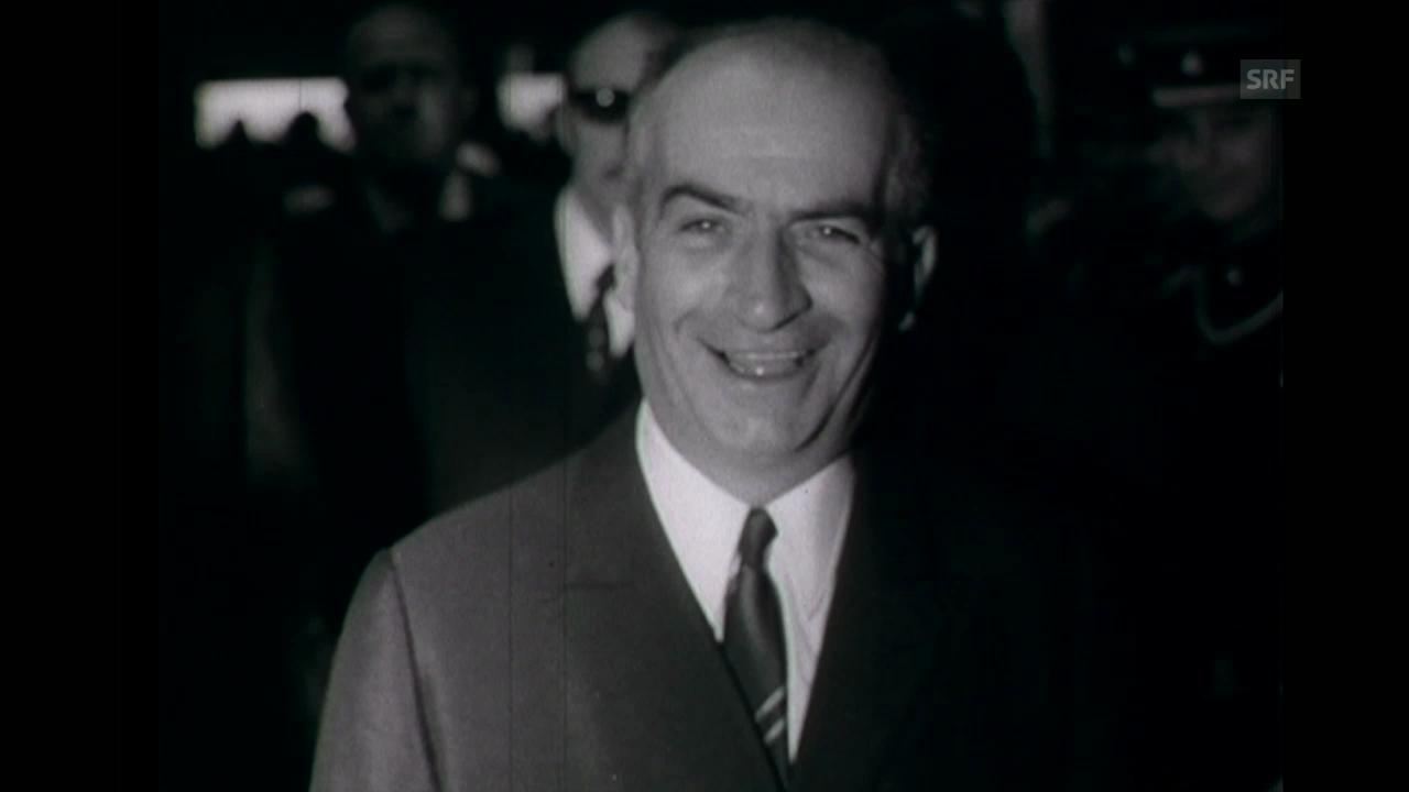 De Funès in Genf (Schweizer Filmwochenschau, 1968)