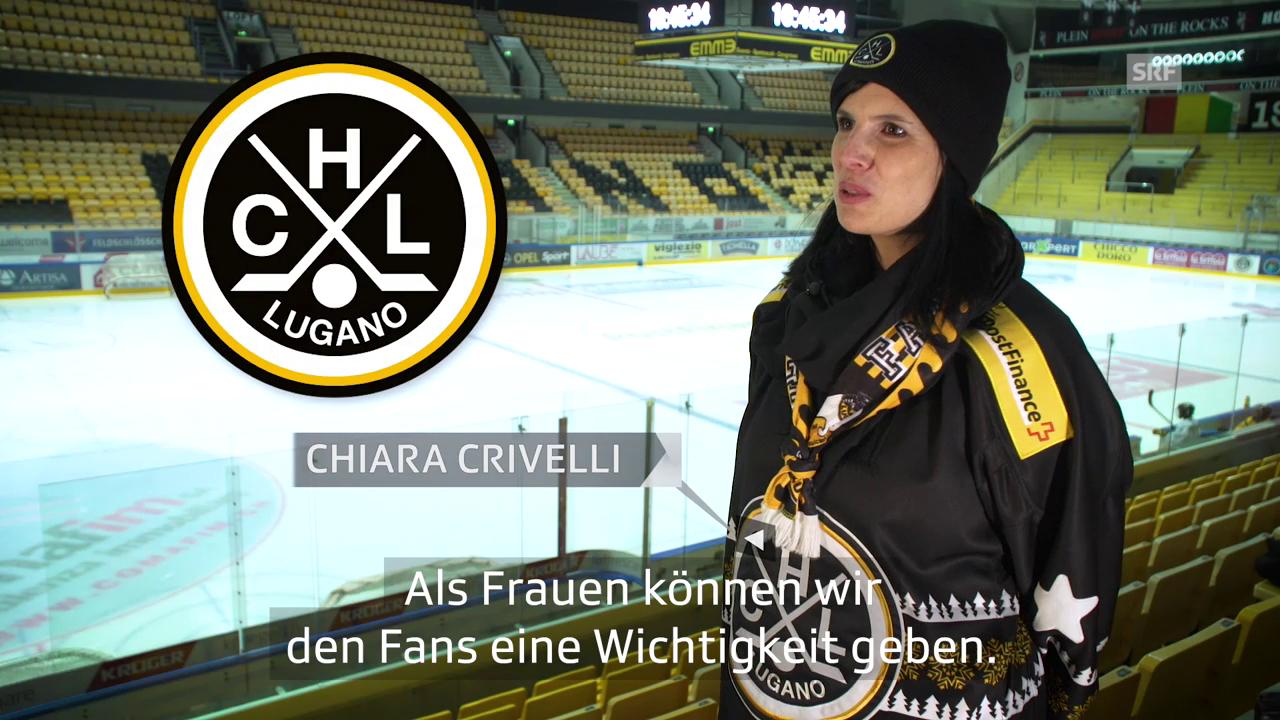 Chiaras HC Lugano steht für Freundschaft