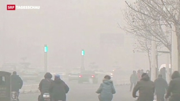 Video «Smog-Rekord in Peking» abspielen