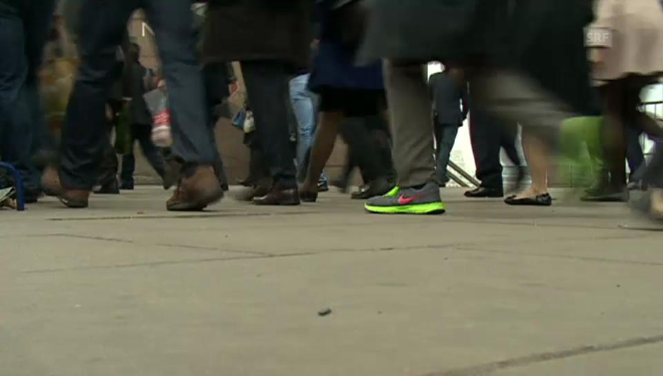 U-Bahn-Streik lässt Angestellte laufen